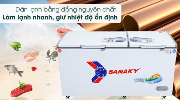 Tủ đông Sanaky 485 lít VH-6699W1