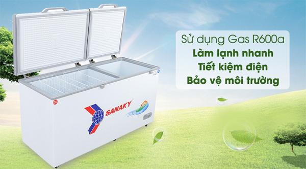 Tủ đông Sanaky 485 lít