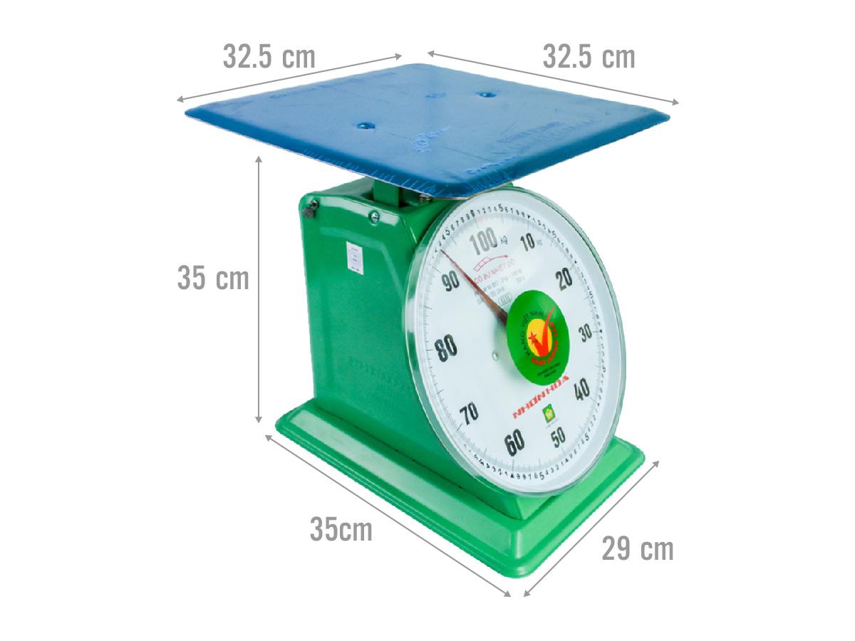 Kích thước của cân