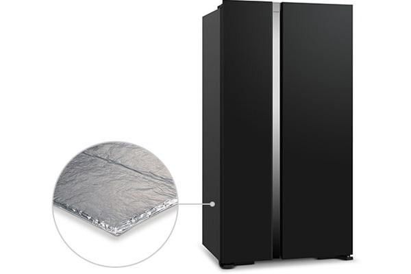 Tủ lạnh Hitachi Inverter R-S800PGV0(GBK)