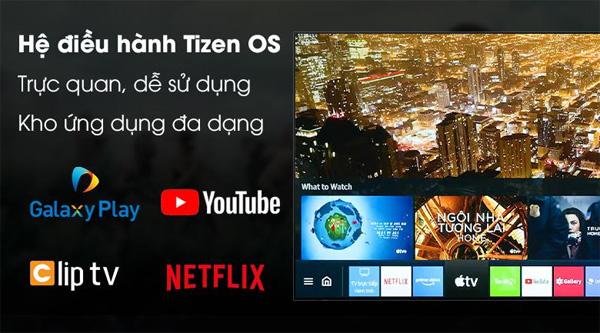 Tivi Samsung Crystal UHD 4K