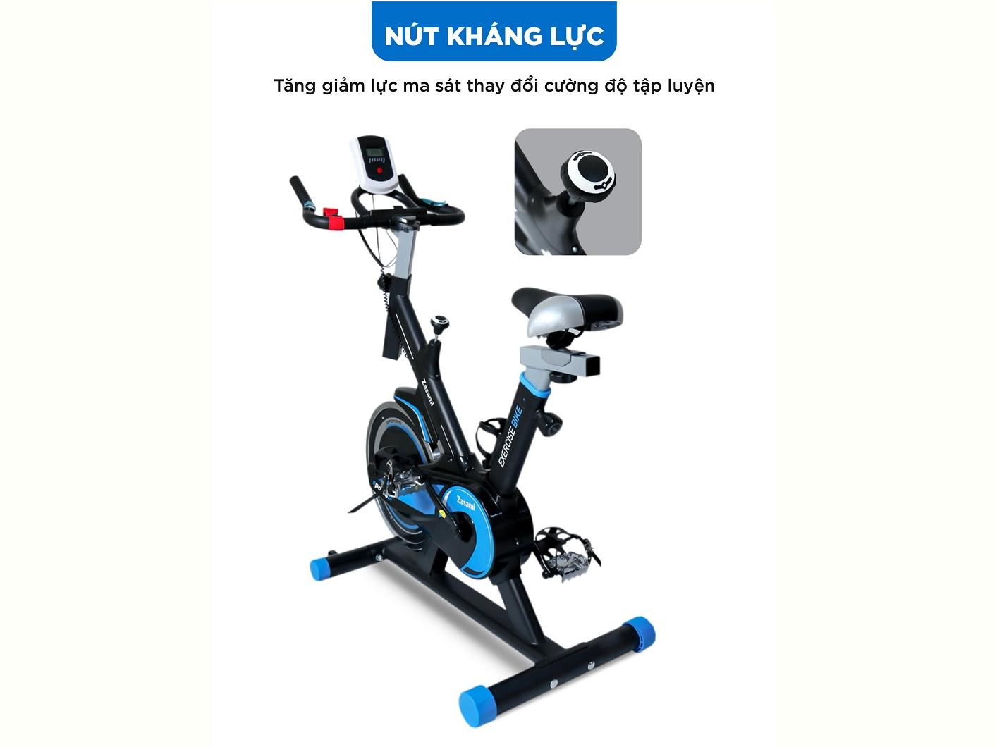 Xe đạp thể dục Zasami