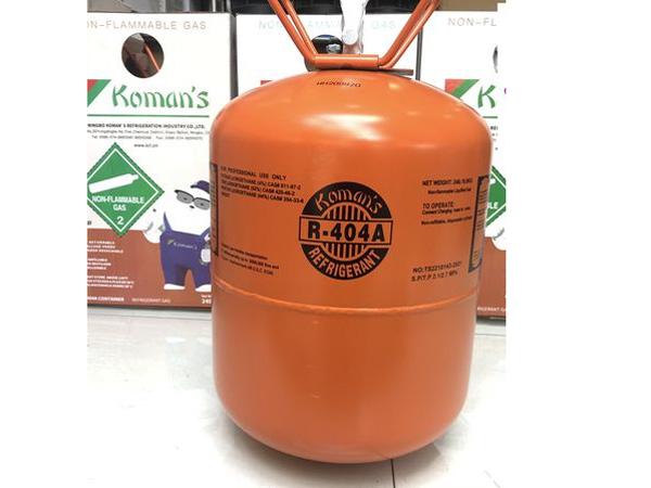 Hình ảnh gas lạnh Koman's R404A bình 10,9kg