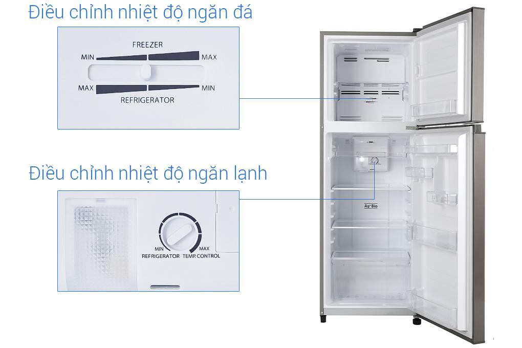Tủ lạnh inverter Toshiba