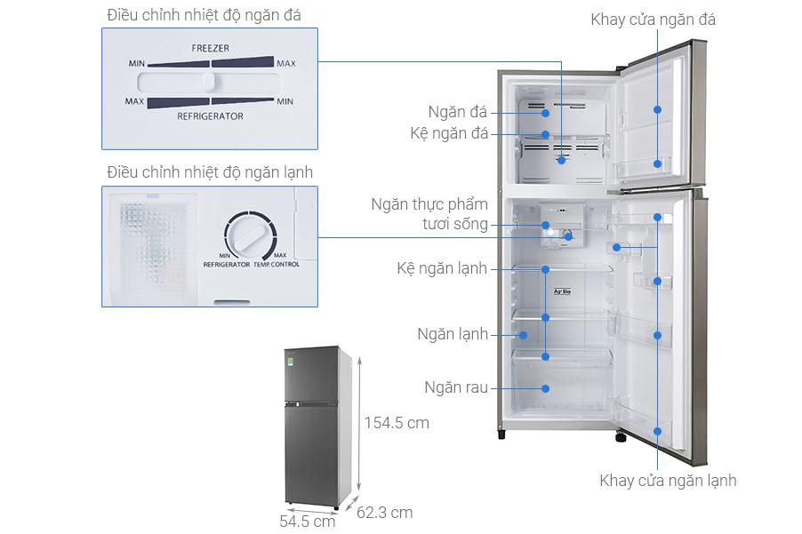 Tủ lạnh Toshiba GR-A28VS(DS1)