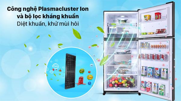 Tủ lạnh Sharp 560 lít SJ-XP620PG-BK