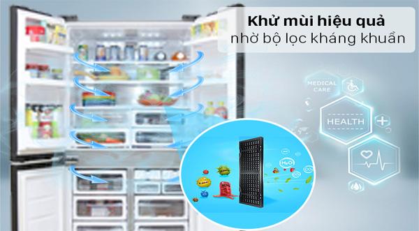 Tủ lạnh Sharp SJ-FX640V-SL