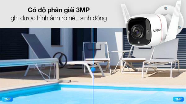 Camera an ninh ngoài trời Wifi TP-Link Tapo C310 3MP