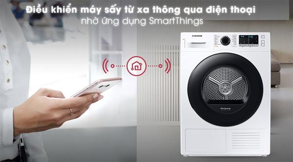 Máy sấy Samsung DV90TA240AE/SV