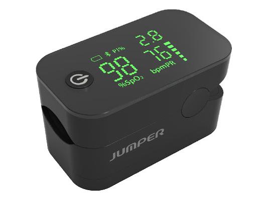 Máy đo nồng độ oxy và nhịp tim Jumper JPD 500G