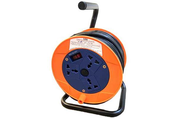 Ổ cắm kéo dài LiOA QN20-3-10A Kiểu Rulo