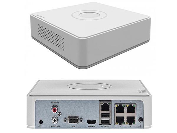 Đầu ghi IP 4 kênh Hikvision