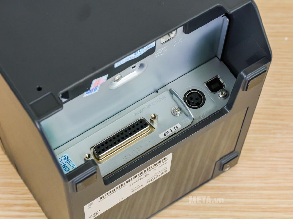Cổng kết nối của máy in
