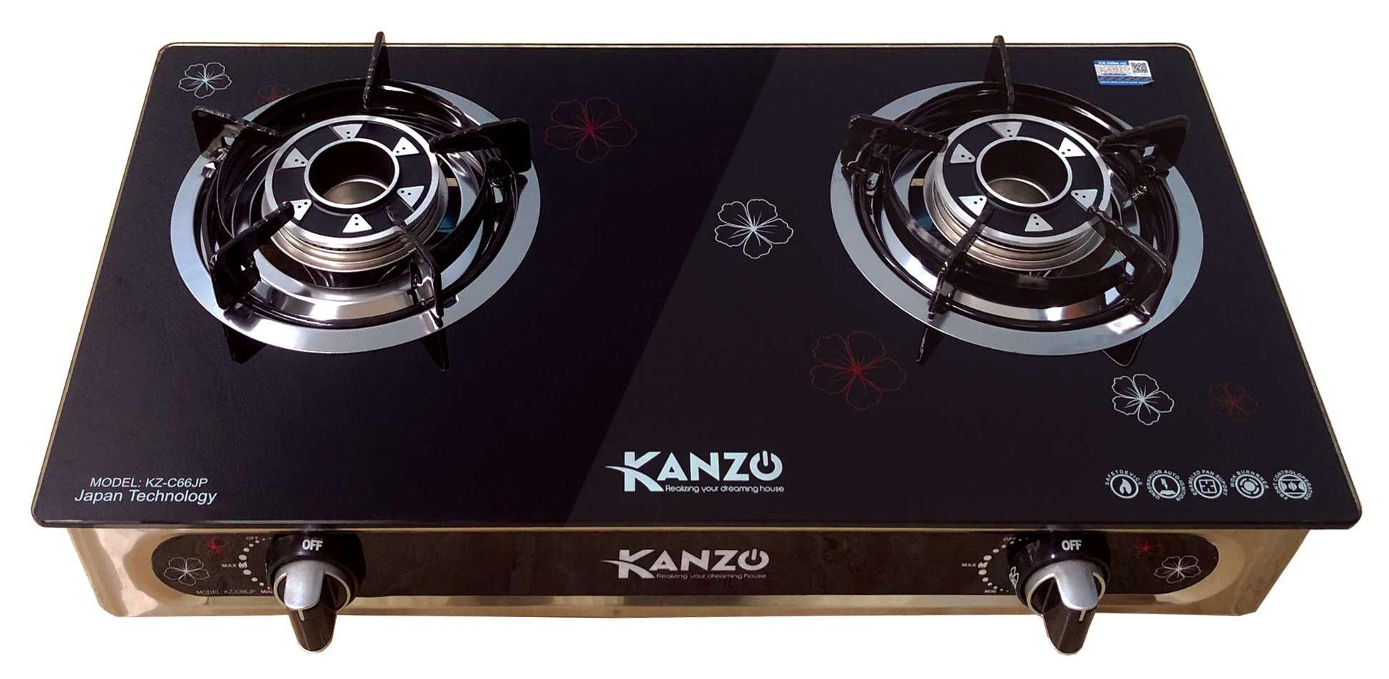 Bếp gas dương kính Kanzo KZ-C66JP
