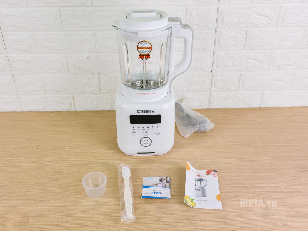 Hình ảnh thực tế của máy sữa hạt