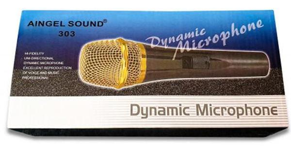 Micro Karaoke Aingel Sound có dây AS303