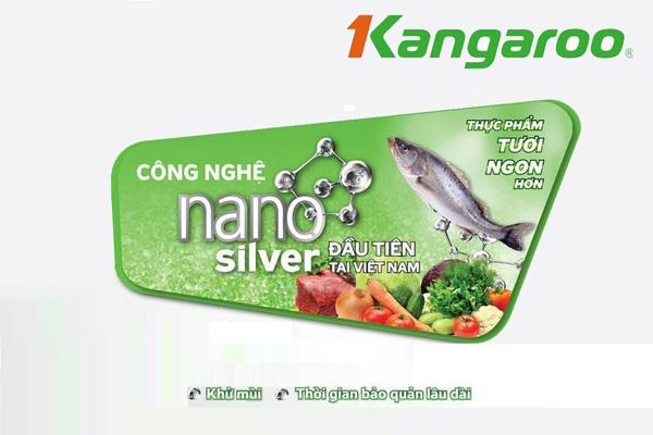 Tủ đông kháng khuẩn Kangaroo KG168NC1 (90 lít)