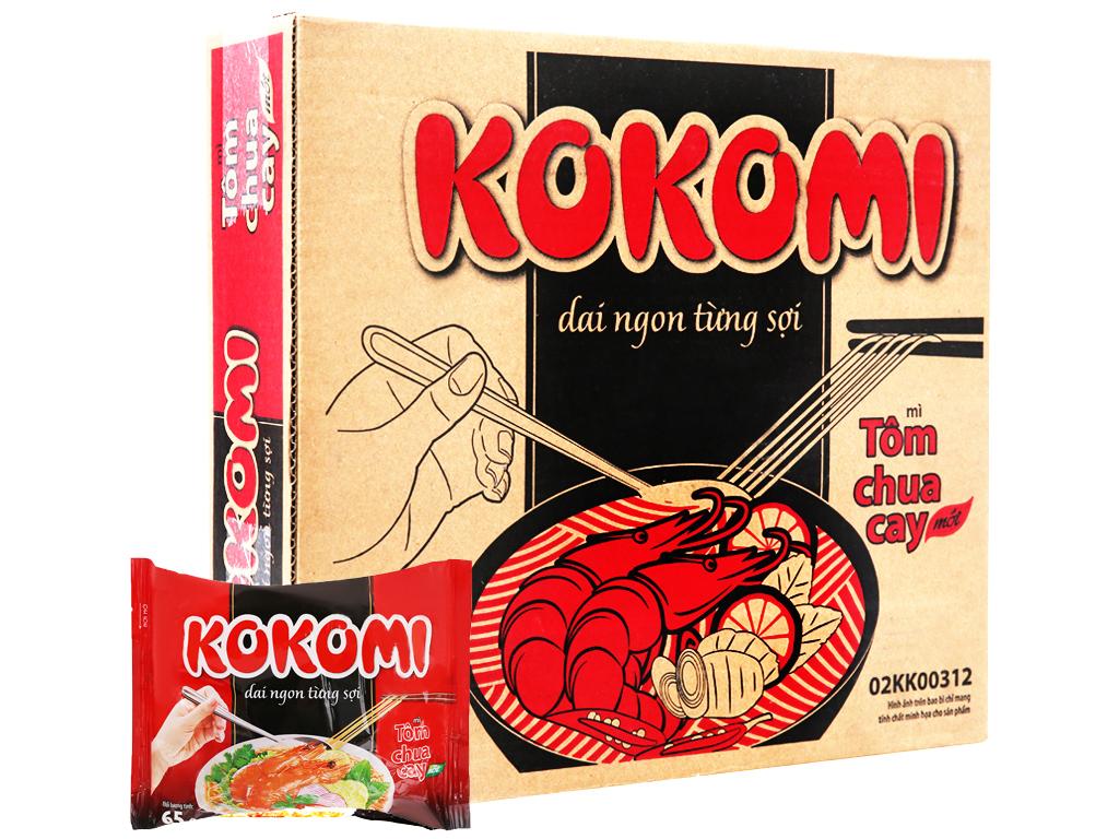 Hình ảnh của mì Kokomi tôm chua cay