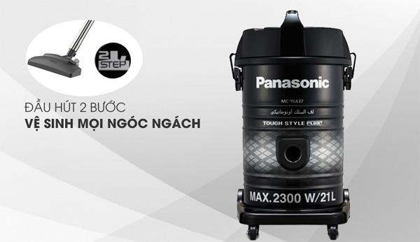 Máy hút bụi Panasonic giúp bạn loại bỏ đến 99.97% bụi bẩn