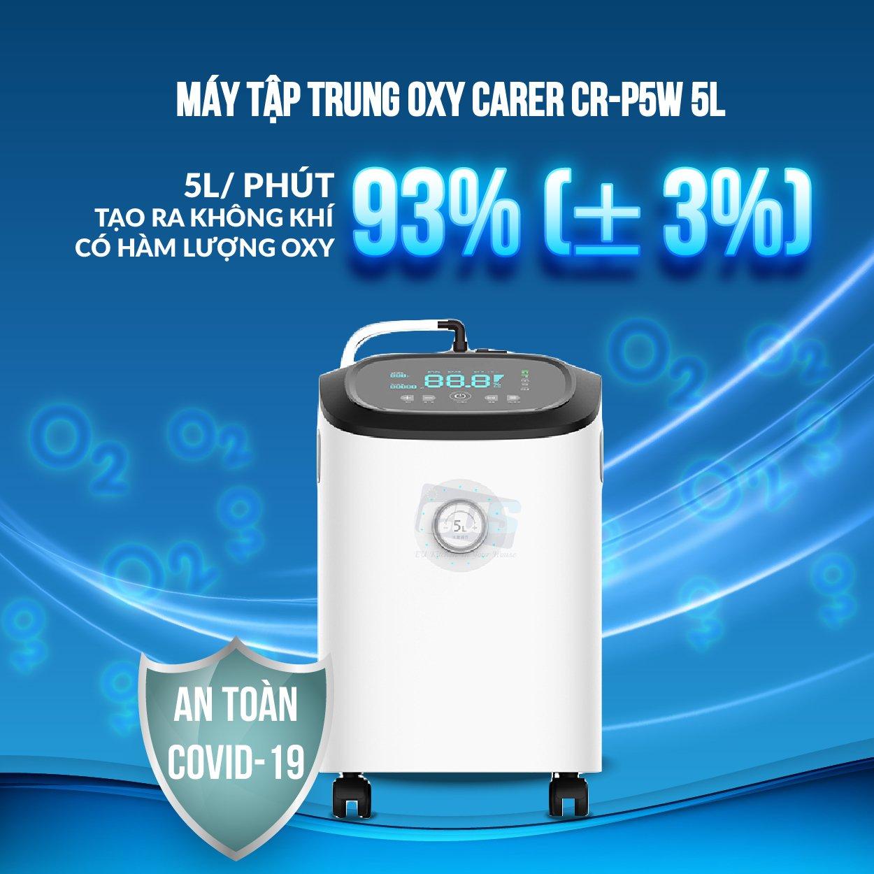 Máy tạo ra oxy có nồng độ tinh khiết cao