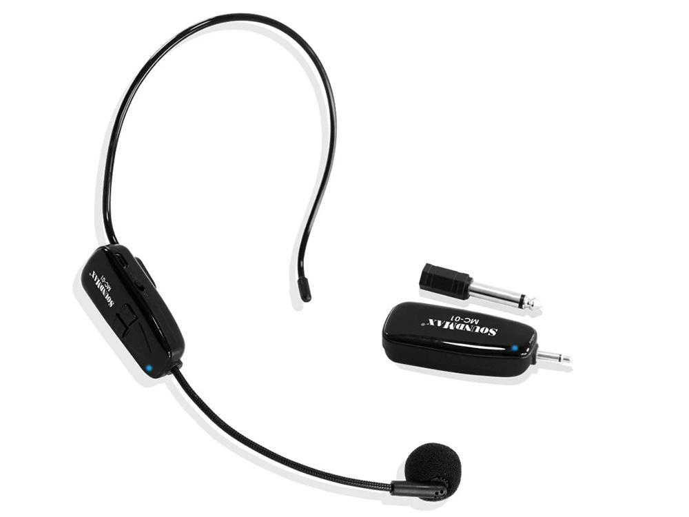 Hình ảnh micro không dây Soundmax MC-01