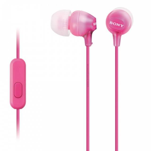 Tai nghe màu hồng
