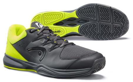 Giày màu đen vàng