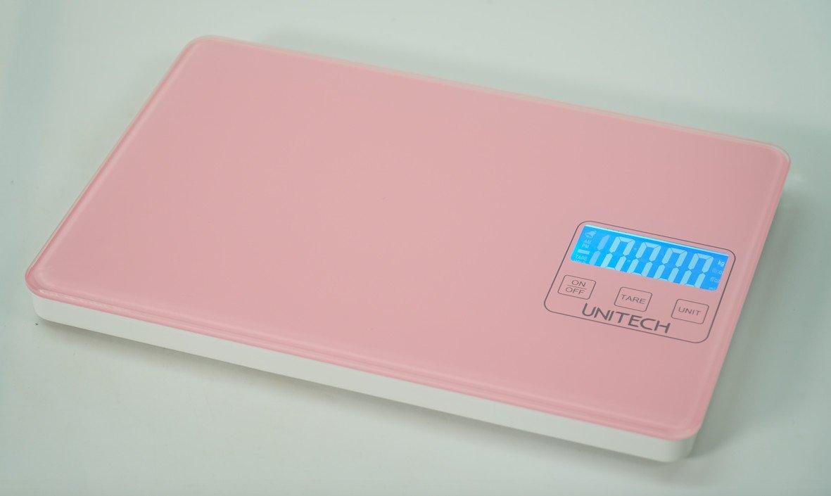 Cân điện tử màu hồng