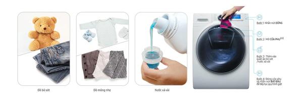 Máy giặt lồng ngang Samsung inverter WW10K44G0YW/SV (10kg)