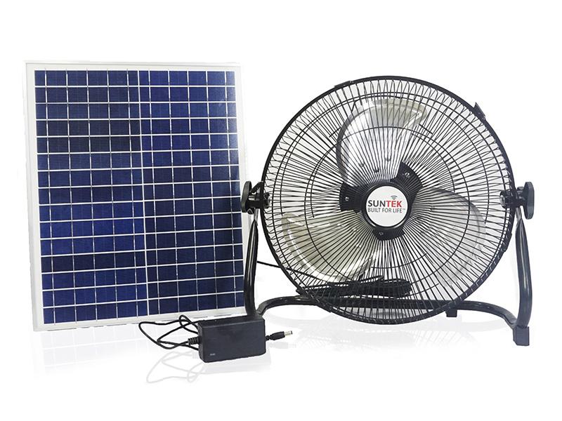 Hình ảnh quạt tích điện 2 trong 1 Suntek S99