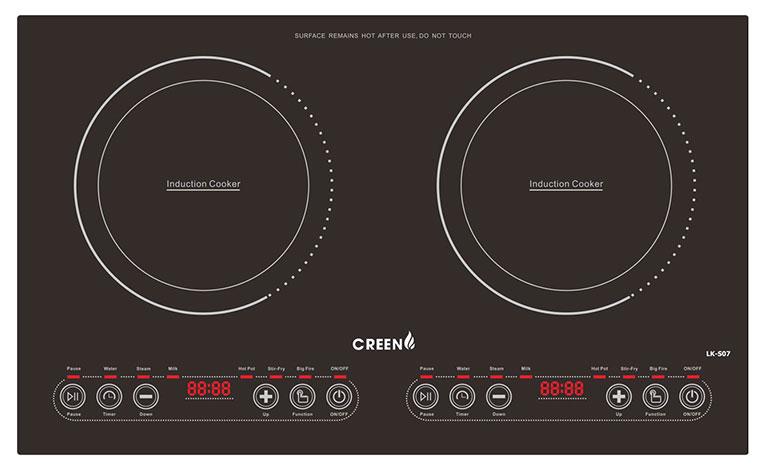 Bếp từ đôi Creen CR-IHPXY875DC1E-400
