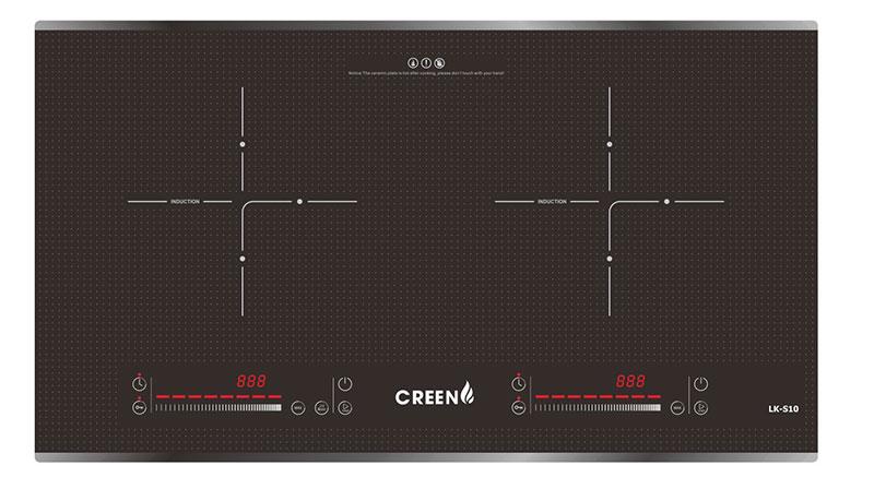 Bếp từ đôi Creen CR-IHPMI968MS-400