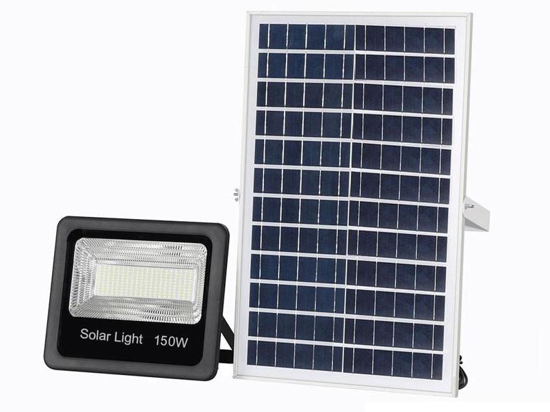 Đèn Solar LED năng lượng mặt trời CET-108150D-150W