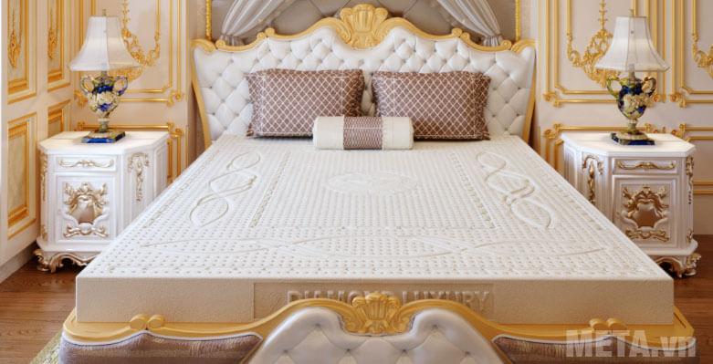 Nệm cao su thiên nhiên Kim Cương Luxury đem đến giấc ngủ ngon