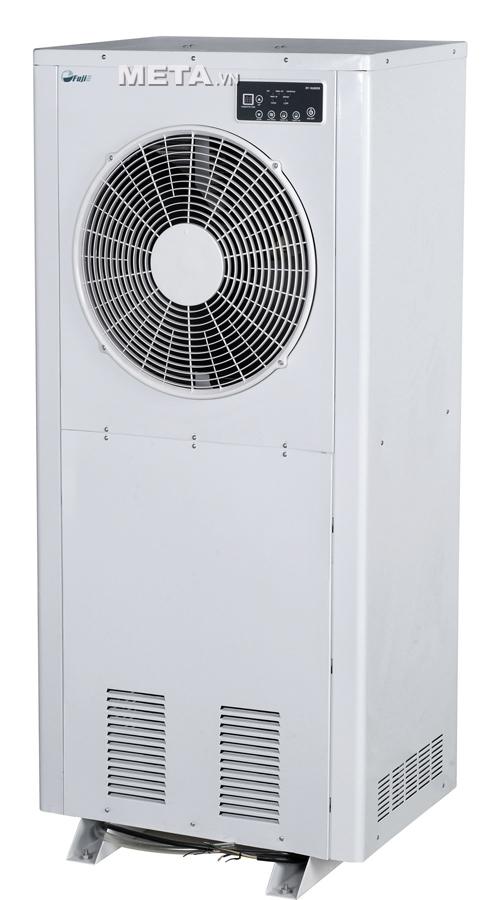 Máy hút ẩm công nghiệp FujiE HM-6180EB có công suất lớn thường sử dụng trong nhà kho, xưởng sản xuất