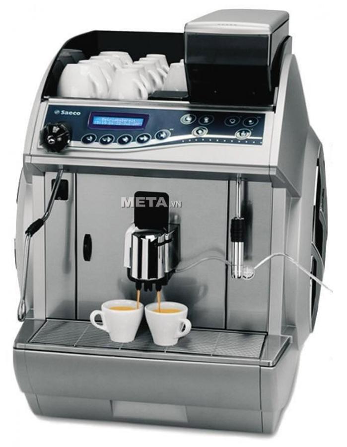 Hình ảnh máy pha cafe Saeco Idea Cappuccino Silver