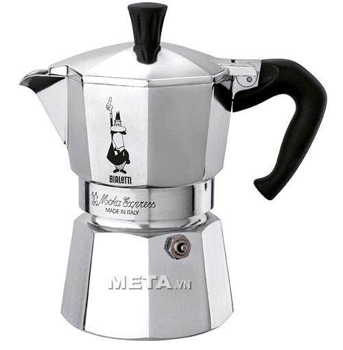 ấm pha cà phê Bialetti Moka Express 9TZ BCM-1165 có thiết kế đẹp sang trọng