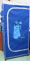 Tủ vải Thanh Long TVAI06 0,75m - màu xanh dương