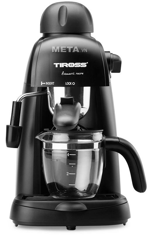 Tiross TS620 cho phép bạn thưởng thức những tách Espresso hay Cappuccino theo đúng phong cách Ý.