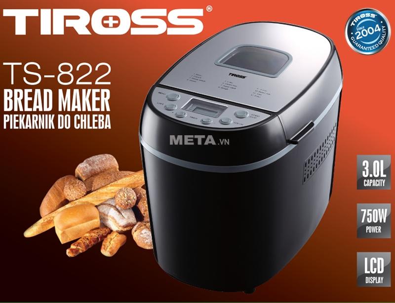 Máy làm bánh mì Tiross TS-822