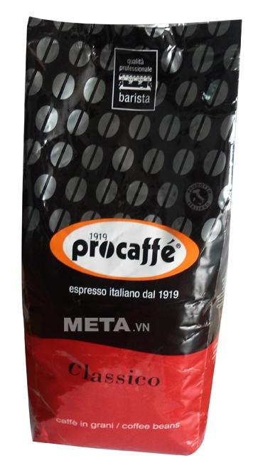 Cà phê hạt Procaffe Classico dạng túi tiện lợi