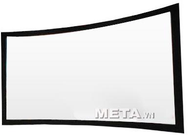 màn chiếu cong Digistorm 130 inch trắng