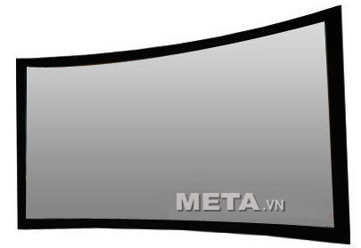 màn chiếu cong Digistorm 130 inch xám