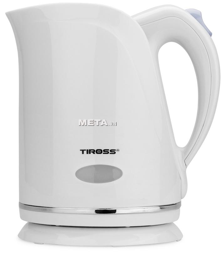 Ấm siêu tốc Tiross TS-488 đun nước sôi nhanh chỉ sau vài phút.