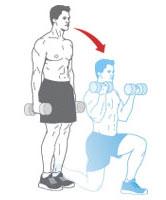 Bài tập với tạ tay cho cơ bắp rắn chắc