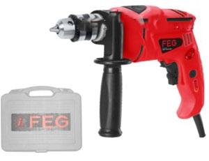Máy khoan FEG EG-518M tích hợp nút công tắc ngay dưới tay cầm.