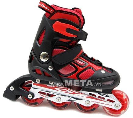 Giầy trượt patin Cougar MZS835LSG có đèn