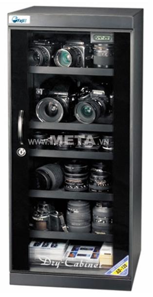 Tủ chống ẩm Fujie AD120 là biện pháp chống ẩm lý tưởng cho máy ảnh