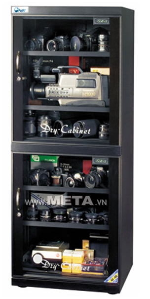 Tủ chống ẩm Fujie AD400 (400 lít) bảo quản thiết bị trong ngành ảnh, ngành in