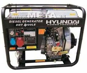 Máy phát điện chạy dầu Diesel Hyundai DHY 4000LE